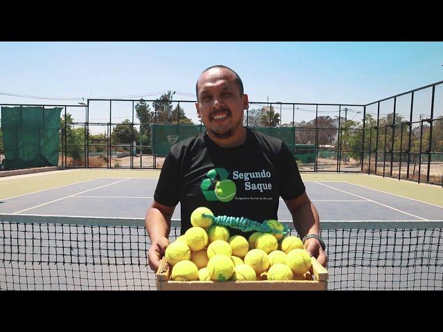 Recicla tus pelotas de tenis con Segundo Saque