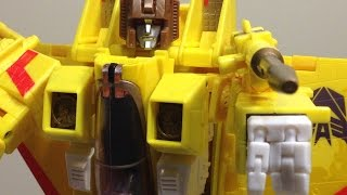 Review Transformers Hasbro Masterpiece MP-05 Sunstorm