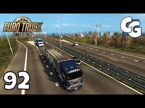 Euro Truck Simulator 2 - Ep. 92 - Bremerhaven to Croydon, UK - ETS2 ProMods 2.11 Gameplay