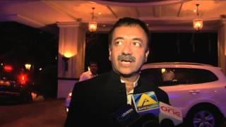 Rajkumar Hirani at PK-Pennsylvania meet