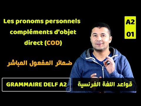 قواعد اللغة الفرنسية Grammaire DELF A2
