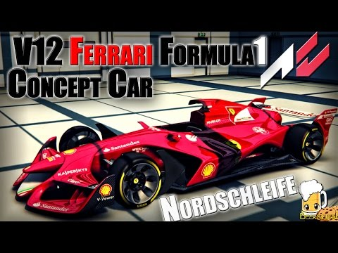 AWESOME FLYING 1000HP Ferrari V12 F1 Concept on Nordschleife Assetto Corsa with Mr. Beerscuit