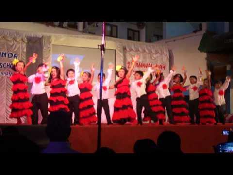 Cain's Goan Dance on School Annual Day