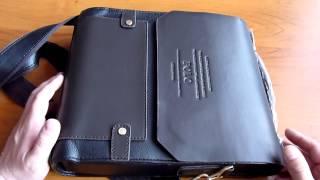 Посылка из Китая. Мужская сумка-портфель POLO(, 2013-05-27T16:13:07.000Z)