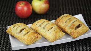 Nutella puff pastry turnover recipe nutella triangles pasrty food by ...