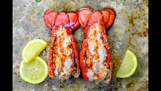 10 Minute Broiled Lobster Tails Recipe