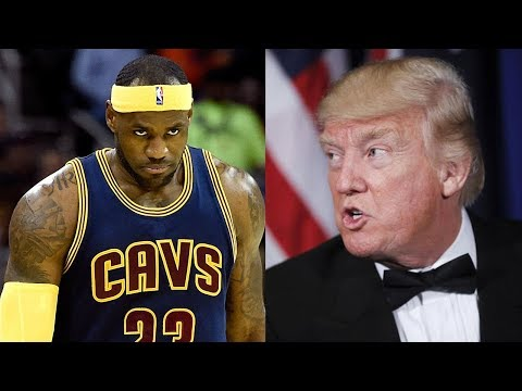 "LeBron James ""100 Percent"" LEAVING the Cavs Because of Donald Trump!"