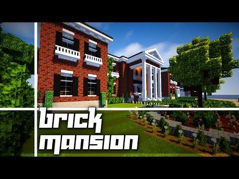 Minecraft: Amazing Brick Mansion!