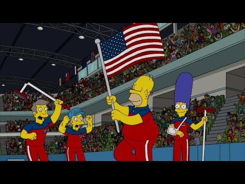 'Simpsons' Episode Predicted U.S. Olympic Curling Team's Gold Medal Victory