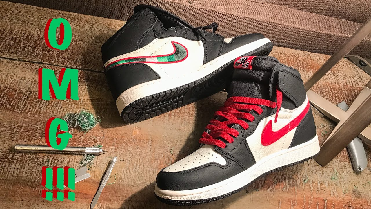 separation shoes 0ec8b b4d6b Exposing Red Swoosh on Air Jordan 1