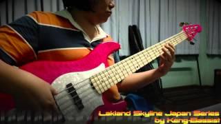 "Mr.Keng-Bassist (""Keng Bassist"" is my Nickname) on Lakland Skyline ..."
