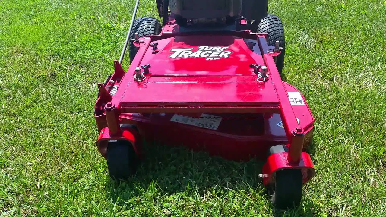 2003 Exmark 36` Turf Tracer Walk Behind Lawn Mower For Sale!