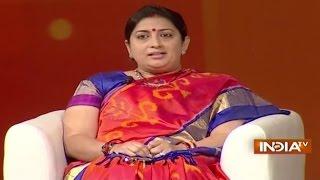 IndiaTV Samvaad: Union HRD Minister Smriti Irani at India TV Conclave