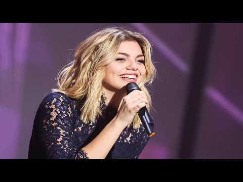 Louane - Si t'étais là (Lyrics) Français- Español (version acoustique)