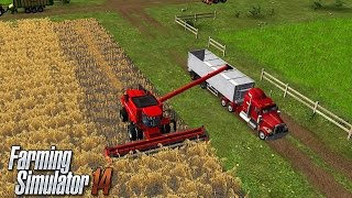 Farming Simulator 14: Learning Street Vehicles for Kids Tractor Farm, Trucks