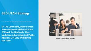 SEO UTAH Strategy For Local Service Based Business