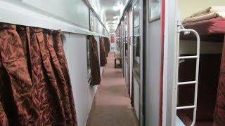Mumbai-New Delhi Rajdhani First AC Interiors. thumbnail