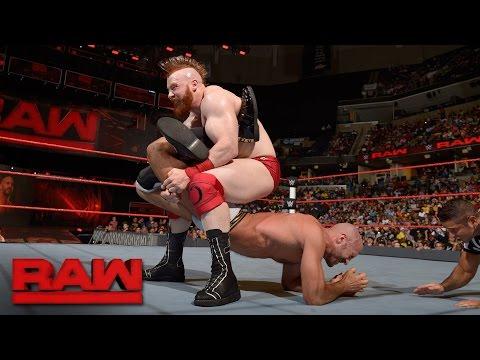 Cesaro vs. Sheamus - Best of Seven Series Match No. 6: Raw, Sept. 19, 2016