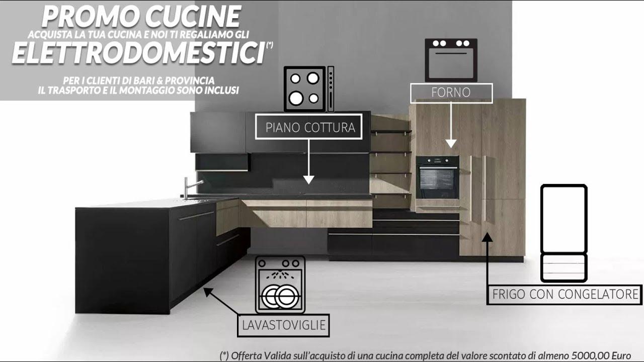 Cucine Componibili In Offerta Bari.Cucine Moderne Componibili E Su Misura Dos Srl Bari