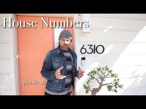 House Numbers: a diy introduction and installation