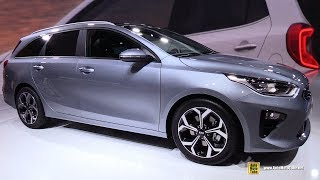 2019 KIA Ceed SW - Exterior and Interior Walkaround - Debut at 2018 Geneva Motor Show