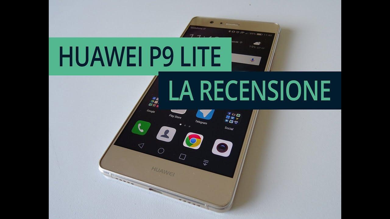 Huawei p9 lite la recensione in italiano youtube for Photo ecran huawei p9 lite