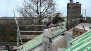 Riezebos Bouwbedrijf renovatie dak van woonhuis