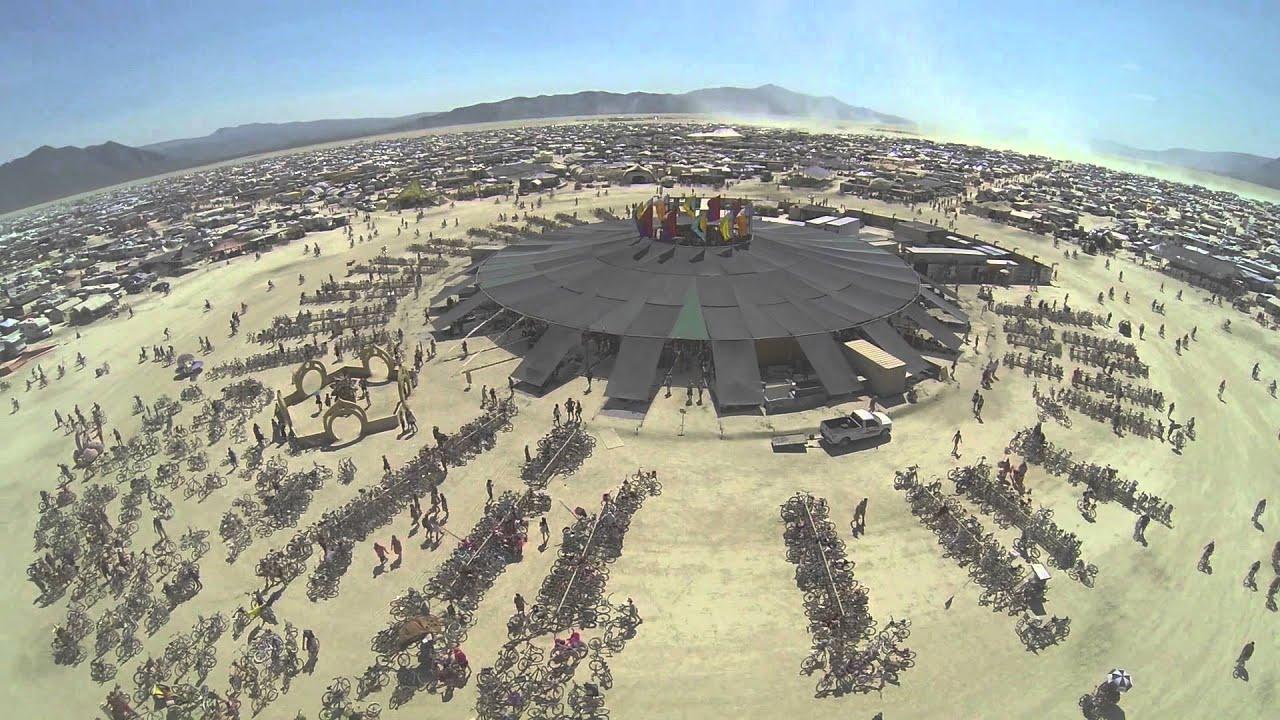Burning Man Fallas Valencia Fesival