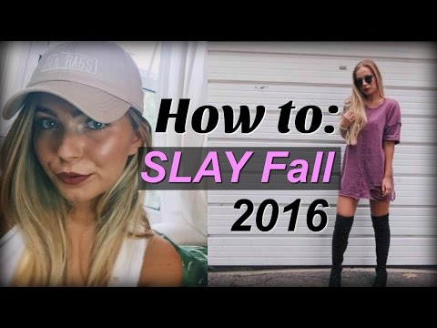 HOW TO SLAY Fall 2016: ESSENTIALS & MUST HAVES! ~ Beauty, Fashion, Trends and More!
