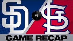4/6/19: Padres use 4-run 8th to surge past Cards