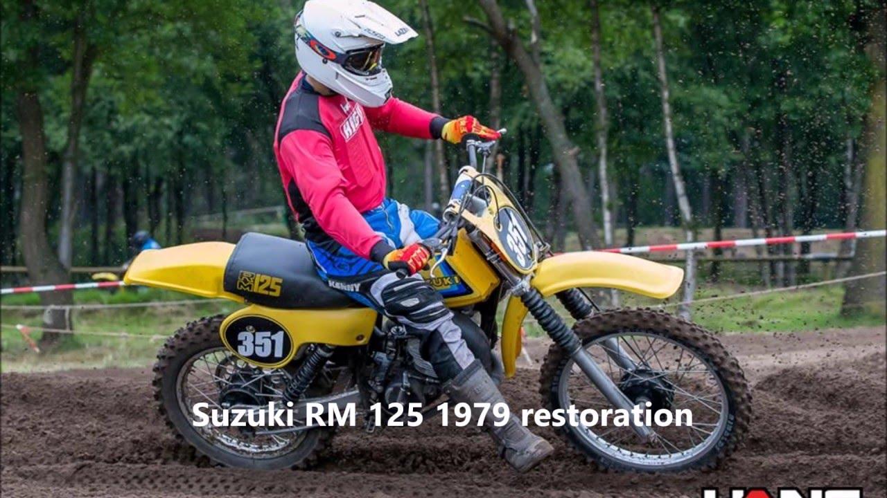 restoration suzuki rm 125 1979 the best 125cc twinshock bike youtube. Black Bedroom Furniture Sets. Home Design Ideas
