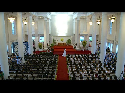 2016 Punahou School Baccalaureate Service (May 29, 2016)