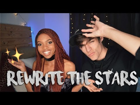Rewrite The Stars MikeyT cover ft. AndiiX