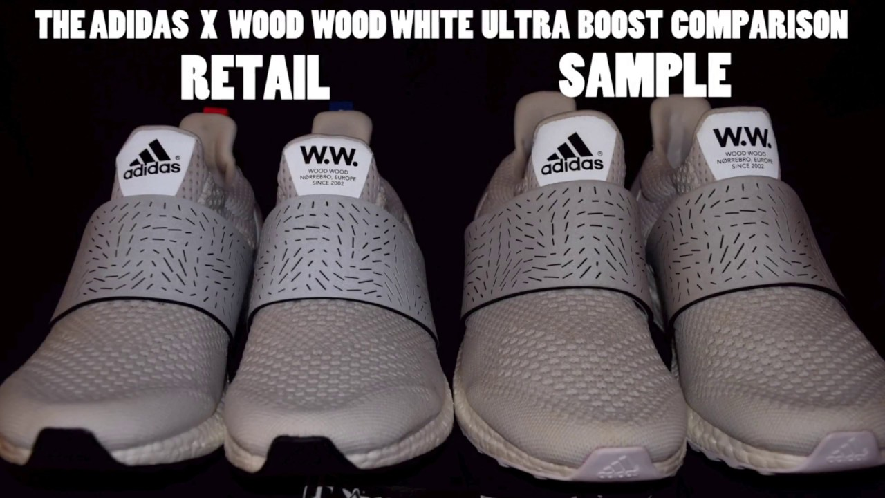 5fcb82a61 Adidas Wood Wood Ultra Boost Retail vs. SAMPLE Comparison - YouTube