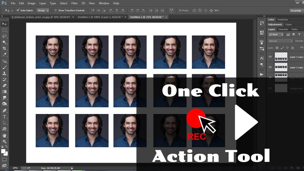 How to Create Passport Size Studio Photos in Photoshop ...