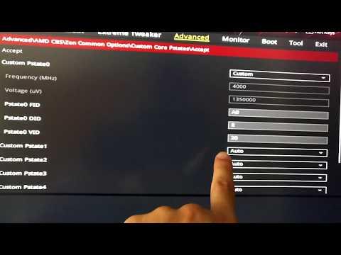 PState Overclocking on Ryzen - YouTube
