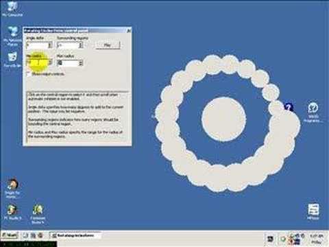 Rotating Circles Form - CodeGear Delphi - YouTube