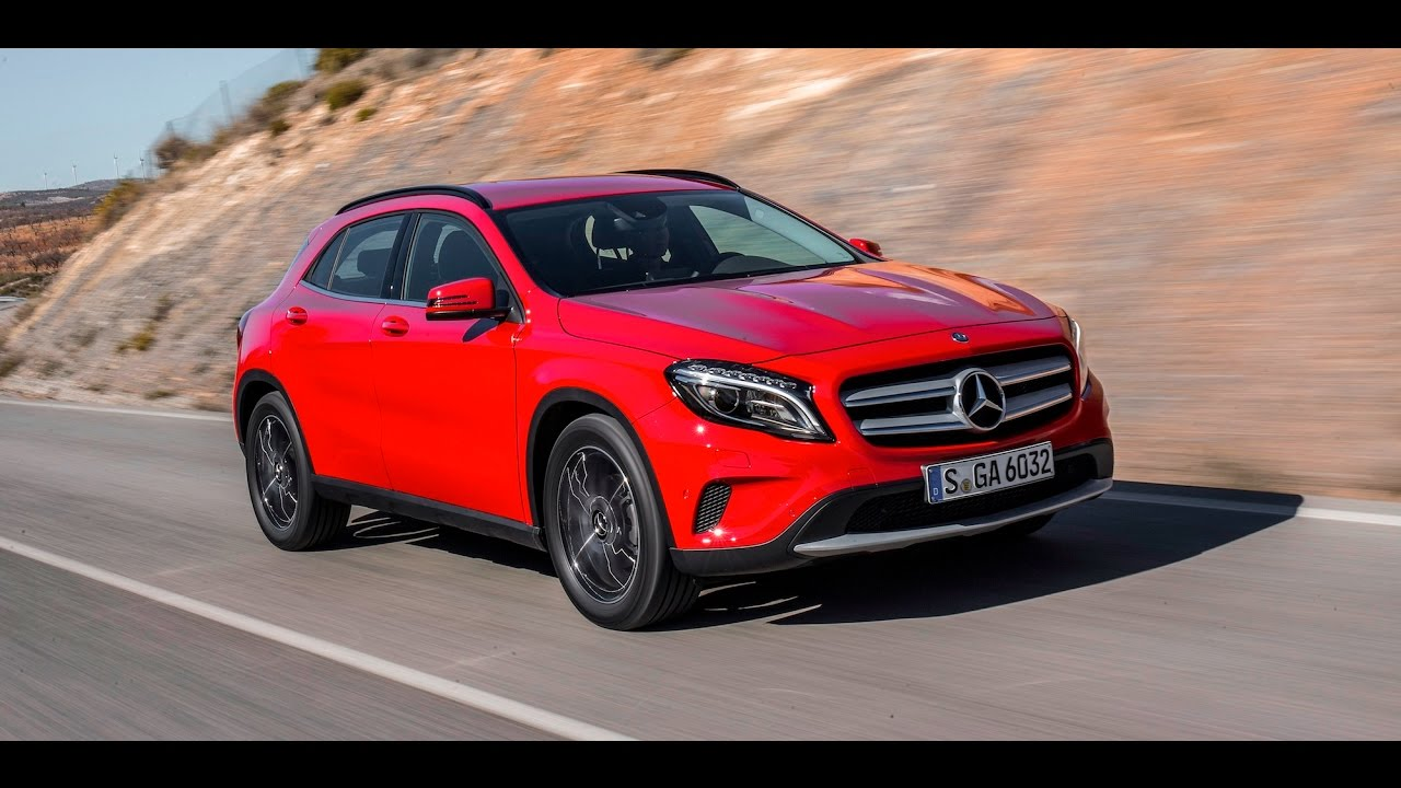 Mercedes Benz Gla 200d Amg Line 2017 In Depth Review
