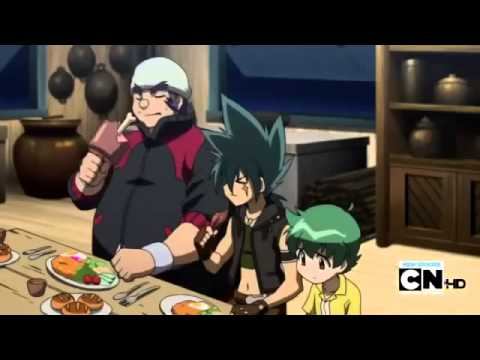 Beyblade Metal Fury Episode 6 - Requirements of a Warrior (English)