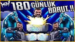 180 GÜNLÜK BARUT ÇIKTI !! Wolfteam 150 Adet Kral Kurt Sandığı Açımı !!
