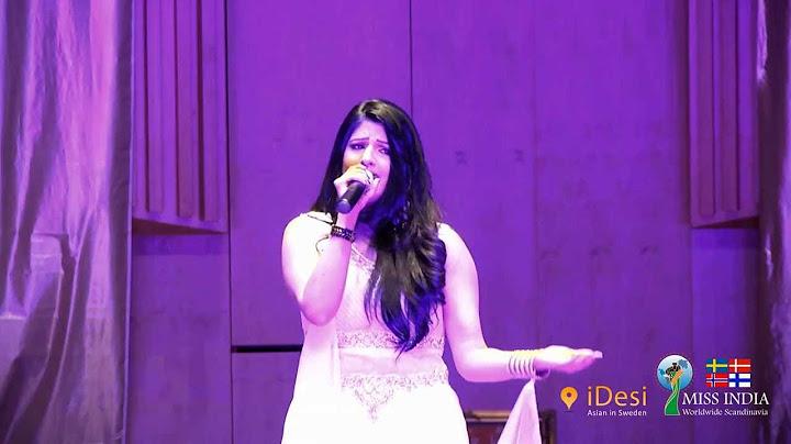 sun raha hai by rupika vaidya at miss india scandinavia 2014