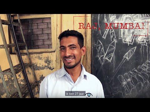 Raj, tour guide and resident of Mumbai's biggest slum Dharavi.