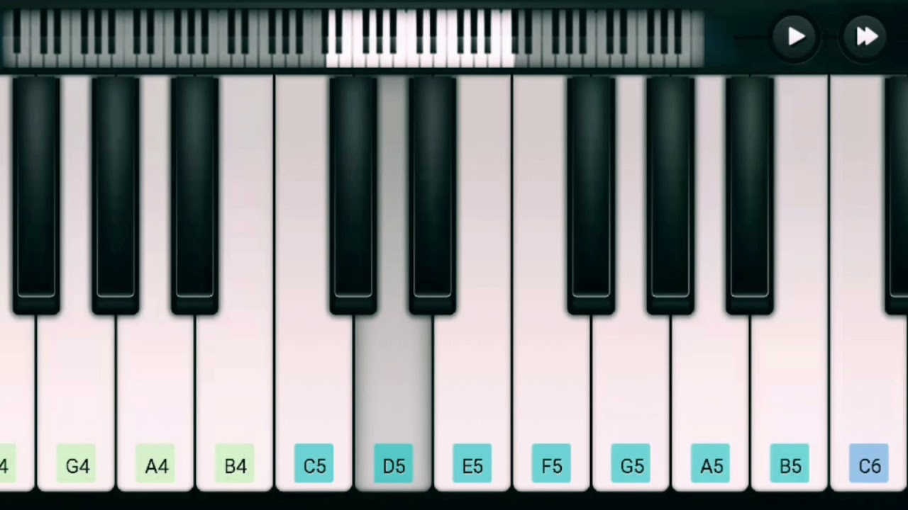 On My Way : Alan Walker (using PERFECT PIANO ) - YouTube