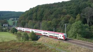 A few trains in Luxembourg + sound recording of the CFL 1604