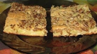 Пиріг з капустою та грибами