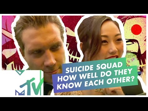 How Well Do The Suicide Squad Cast REALLY Know Each Other? | MTV