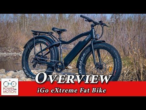 iGo electric Fat Bike overview | Calgary, Alberta | Edmonton | Electric bike Calgary | eBike Calgary
