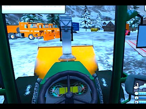 Ski Region Simulator: Plowing the Parking Lot