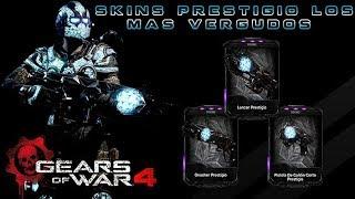 Gears of War 4 l Los Skins mas VERGUDOS  que dio TC gratis en #Gears4 l RDLC a full l1080p