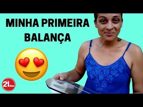 DIETA DE 21 DIAS COMPREI MINHA PRIMEIRA BALANÇA DE BANHEIRO